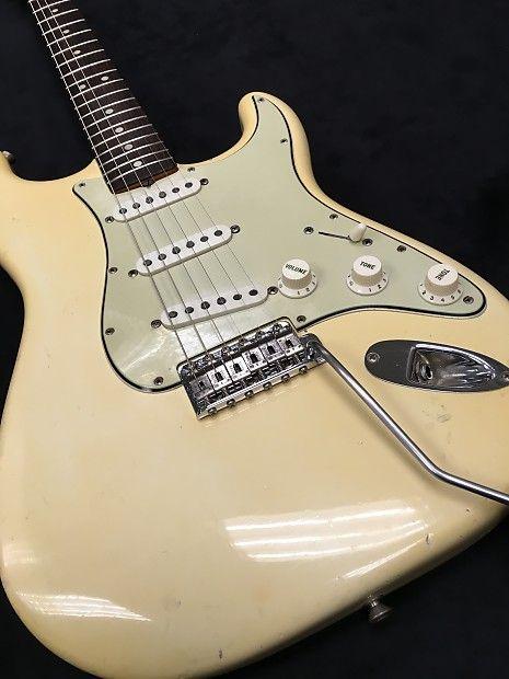 Fender Stratocaster 1965 Reverb Fender Stratocaster Fender Stratocaster Vintage Fender Guitars
