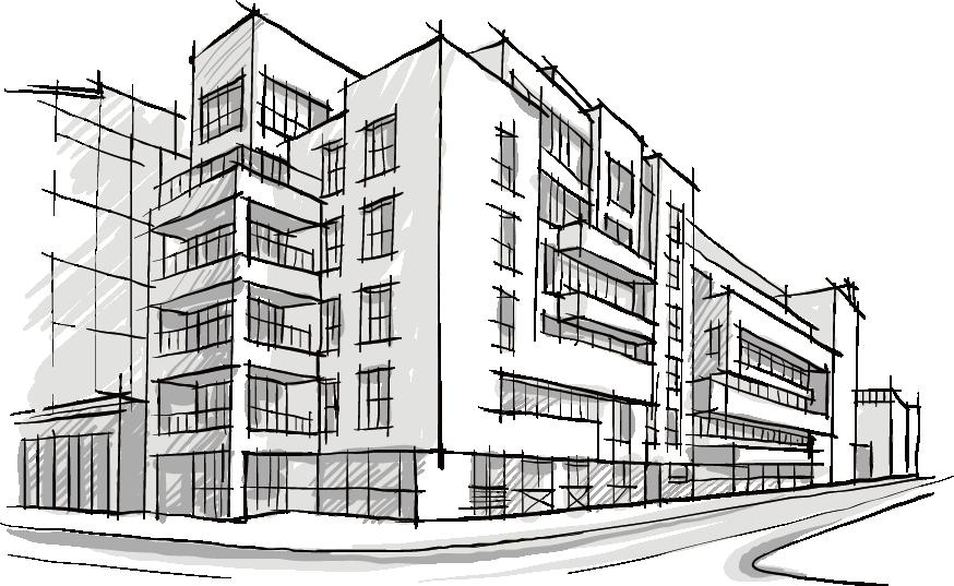 Building City Sketch Architecture Architectural Drawing Hand Painted Architecture Drawing Architecture Sketch Silhouette Architecture