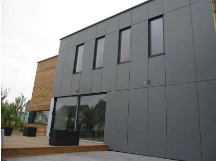 Facade sud maison bois terrasse bardages maison bardage maison bardage et construction maison - Facade maison en bois ...