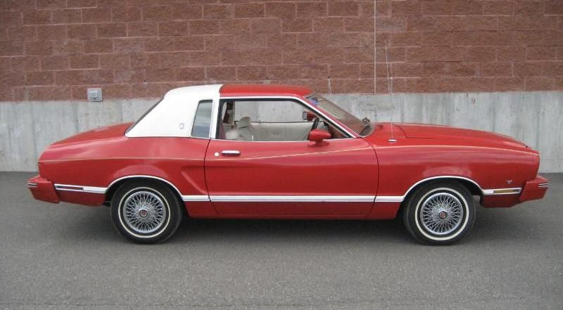 Bright Red 1978 Ford Mustang II Ghia Coupe  MustangAttitudecom