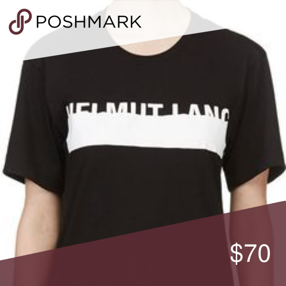 1hoursale Helmut Lang T Shirt Helmut Lang T Shirt Barely Worn Helmut Lang Tops Tees Short Sleeve Shirts Helmut Lang T Shirt