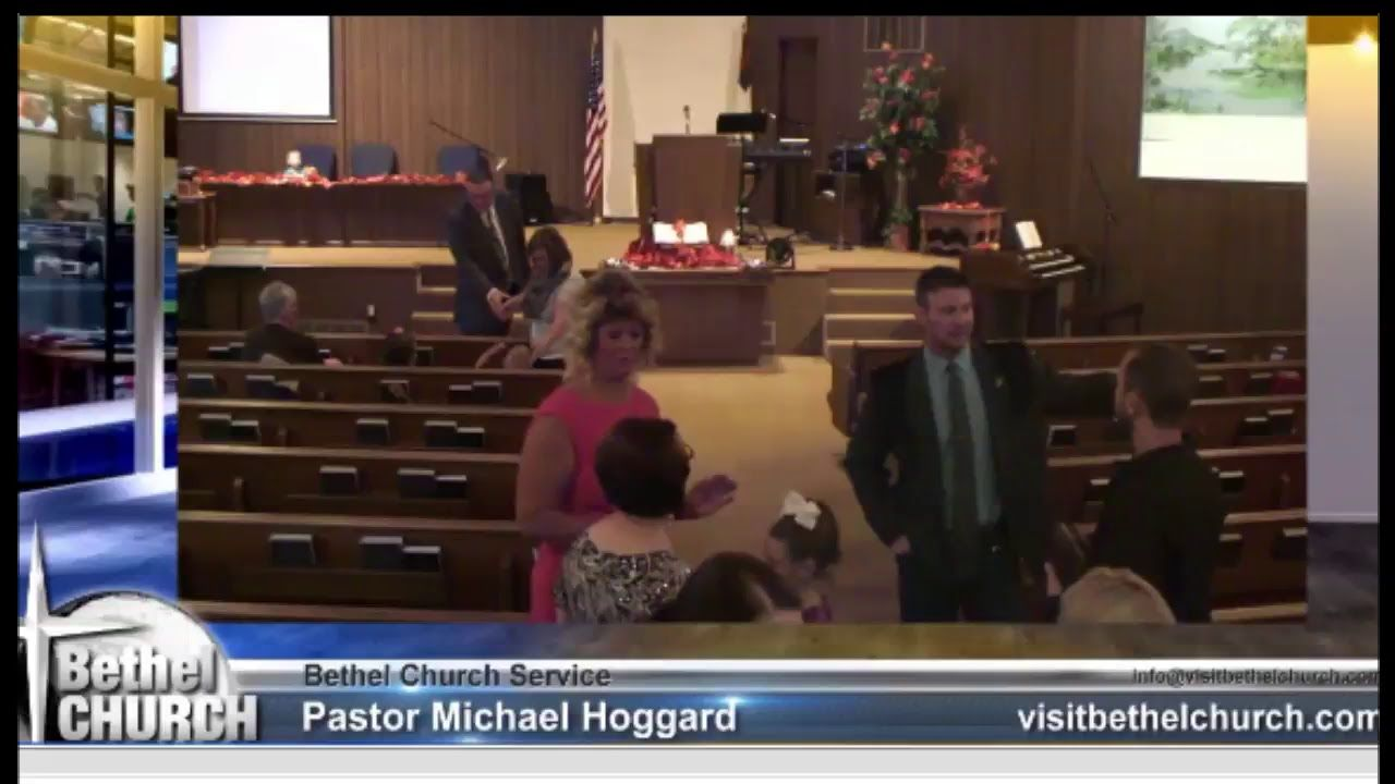 Michael Hoggard Live Stream YouTube Bible Study & Sunday