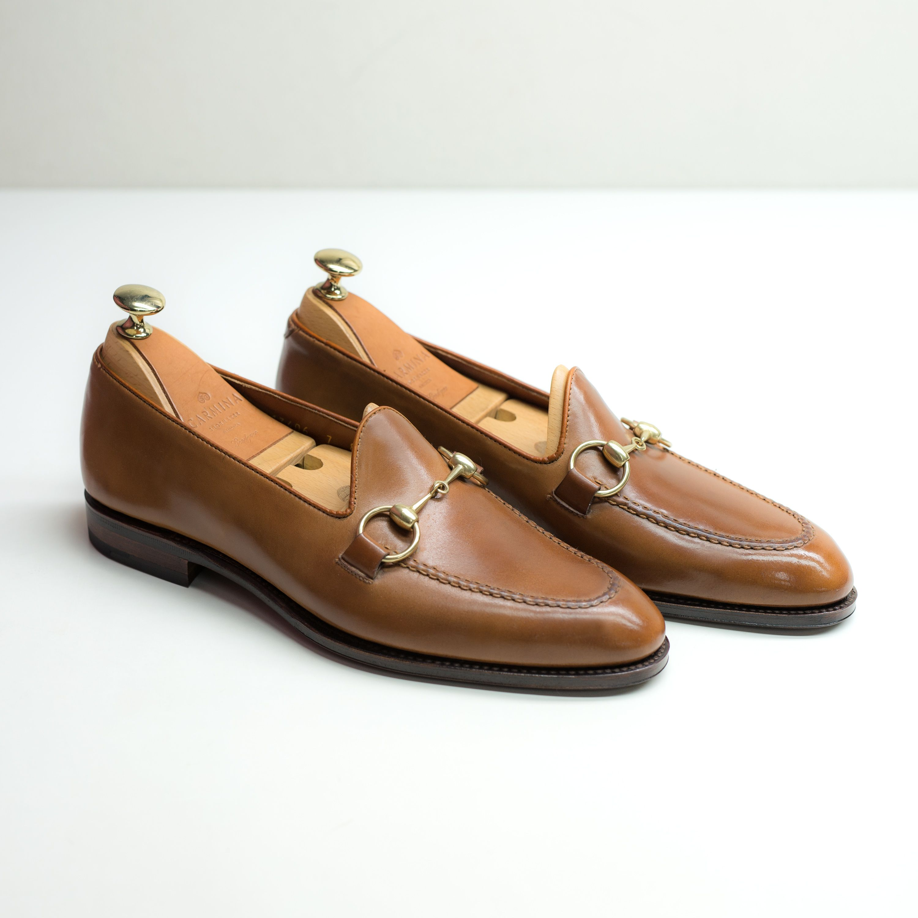 a2682f96e3c UNLINED CORDOVAN HORSEBIT LOAFERS 80643 UETAM IN BOURBON