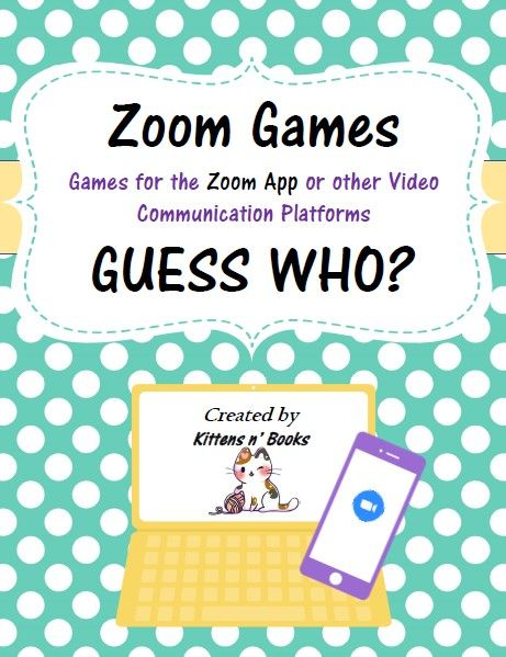 Pin on Zoom Games