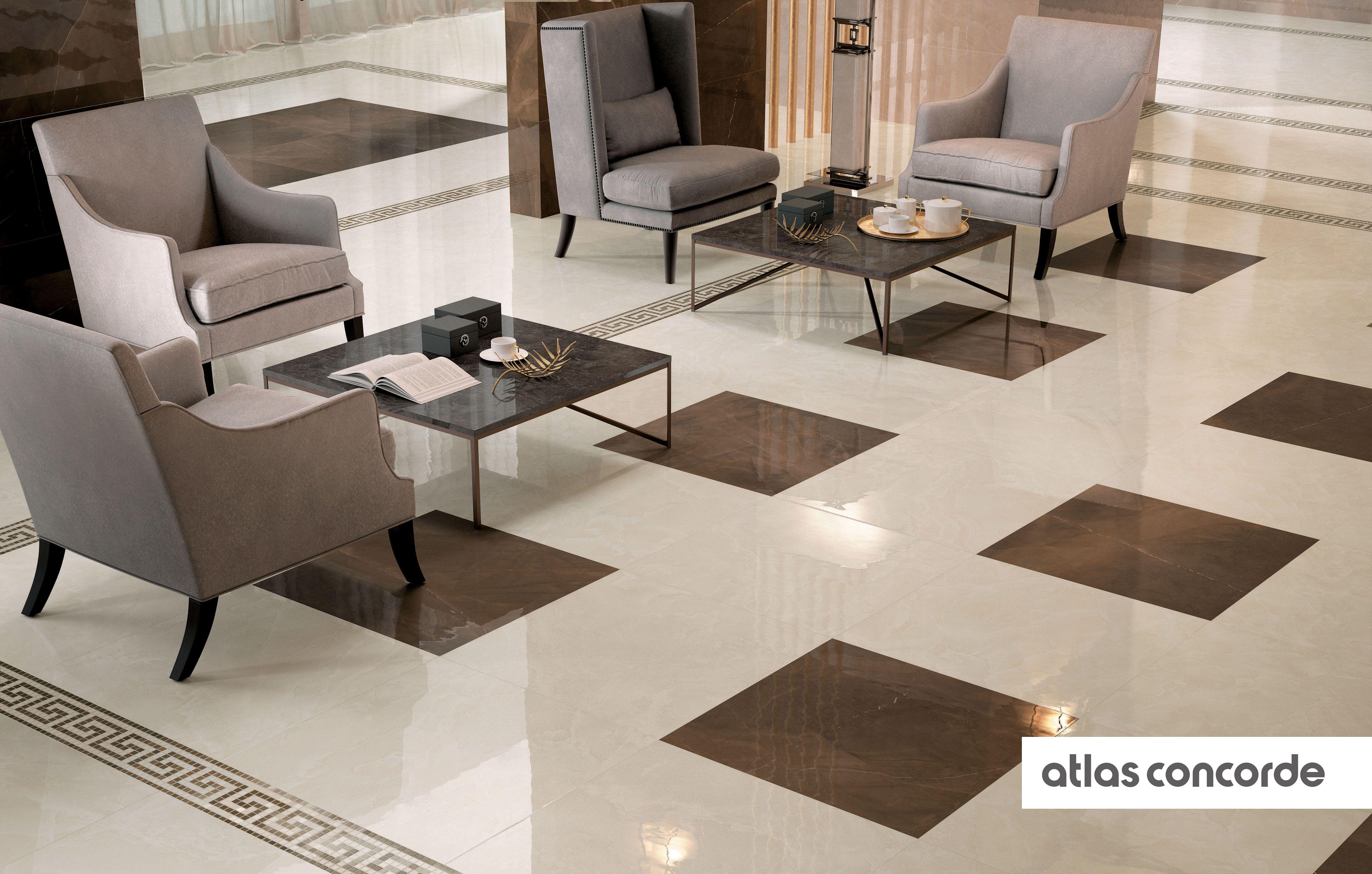 Atlas Concorde Piastrelle in Ceramica e Gres Porcellanato   Room tiles design, Marble flooring ...