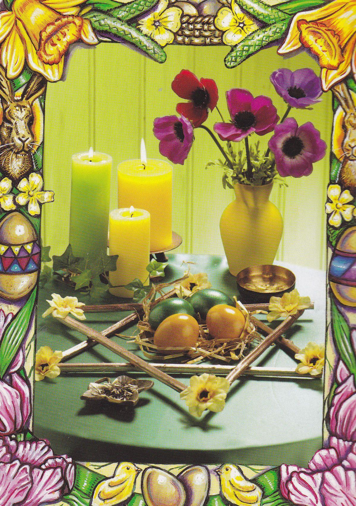 Spring Equinox Altar