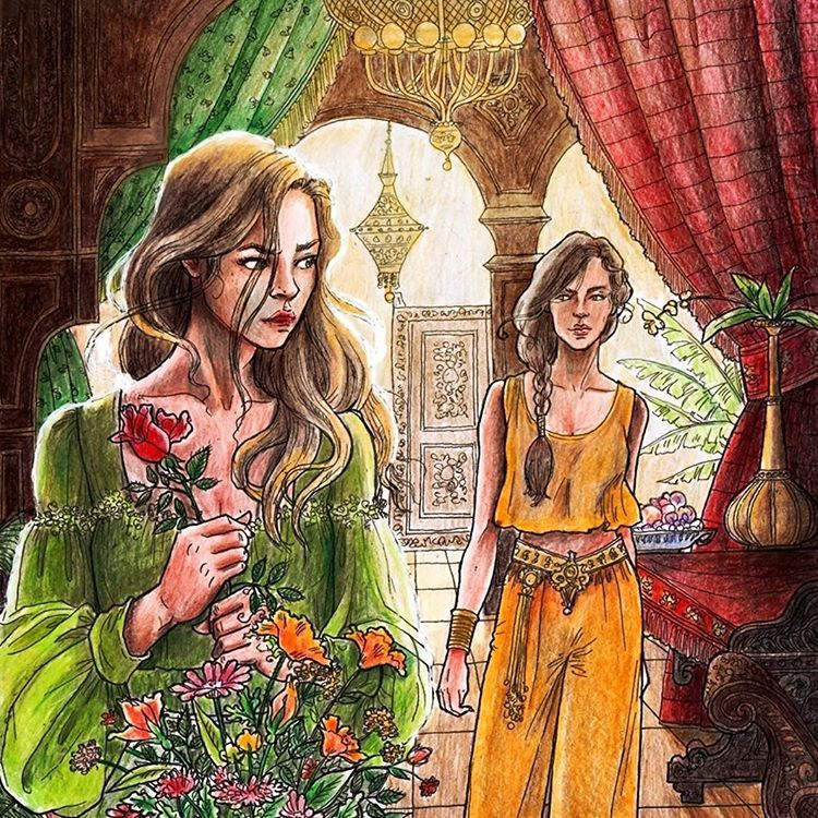 ACOTAR Colouring Book This person