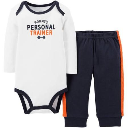 3239e82ac Hudson Baby Newborn Baby Boys Short Sleeved Bodysuit and Cargo ...