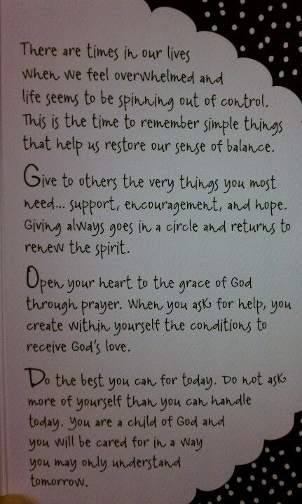 A word of encouragement   Words of encouragement ...