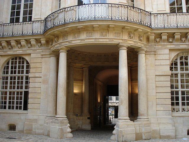Hôtel De Beauvais Paris 1654 Antoine Le Pautre