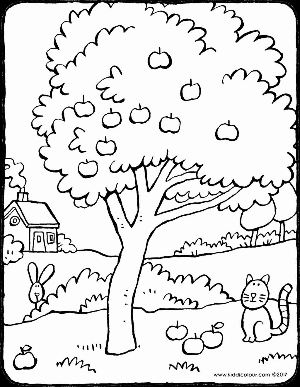 Coloring Pages Apple Tree Coloring Book Refrence Trees Page Palm Fabulous Coloring Book Tree Tree Coloring Page Shopkins Colouring Pages Fruit Coloring Pages