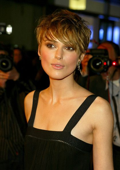 Trendy Short Pixie Hairstyles For Women From Keira Knightley   Hairstyles  Pictures   Womenu0027s U0026 Menu0027s Hairstyles U0026 Haircut Styles