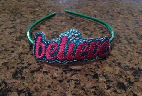 Believe Headband Slider