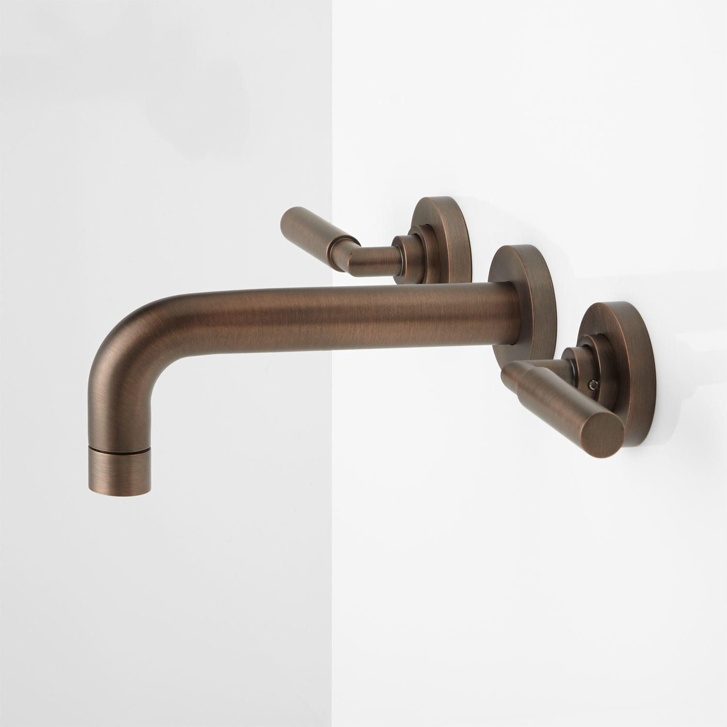 Triton Wall-Mount Bathroom Faucet - Lever Handles | Wall mount ...