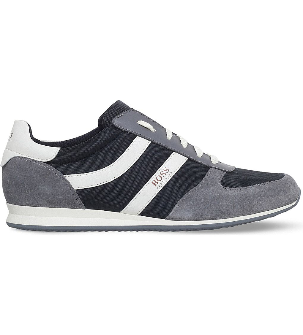 1009c6d890 BOSS Orland Mesh Runner trainers in 2019   Zapatillas   Sneakers ...