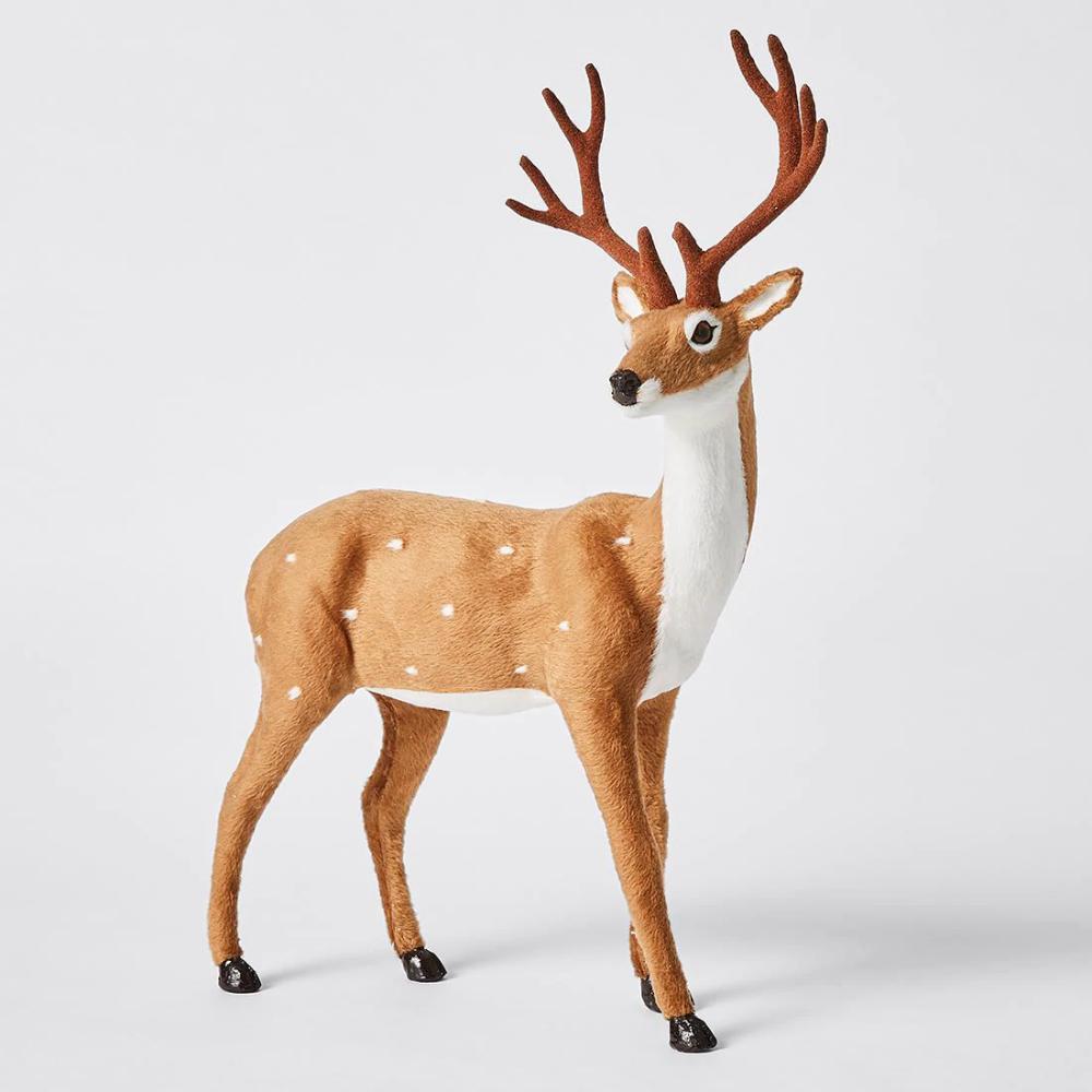 Natural Tabletop Reindeer Reindeer, Christmas tree