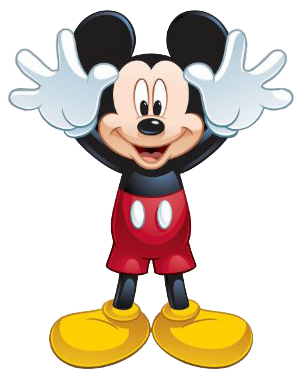 Mickey Hands Up