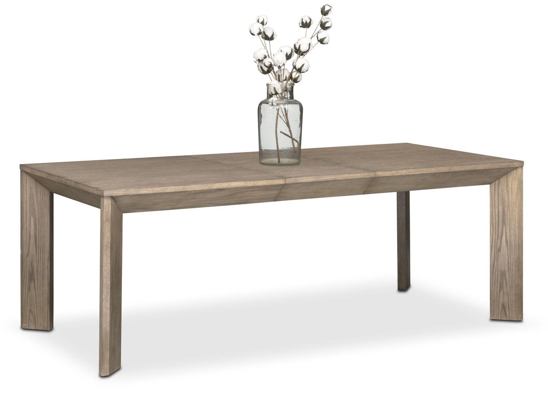 Gavin Table  Graystone  American Signature Furniture  Kitchen Entrancing American Signature Dining Room Sets Design Ideas