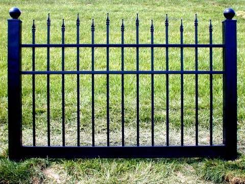 Black Vinyl Fence 4 Ft X 6 Ft Bsl 10 Dog Fence Vinyl Picket Fence Vinyl Fence