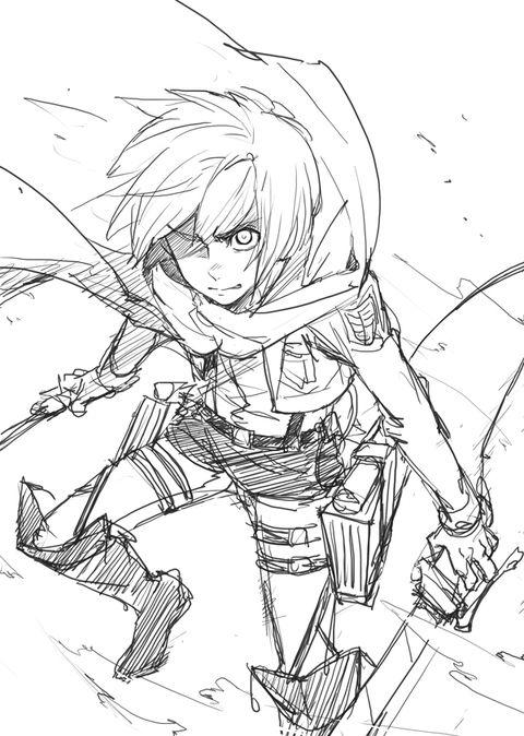 Armin 3 Com Imagens Attack On Titan Anime Poses References