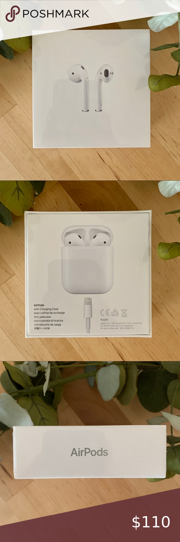 airpods 2nd generation packaging
