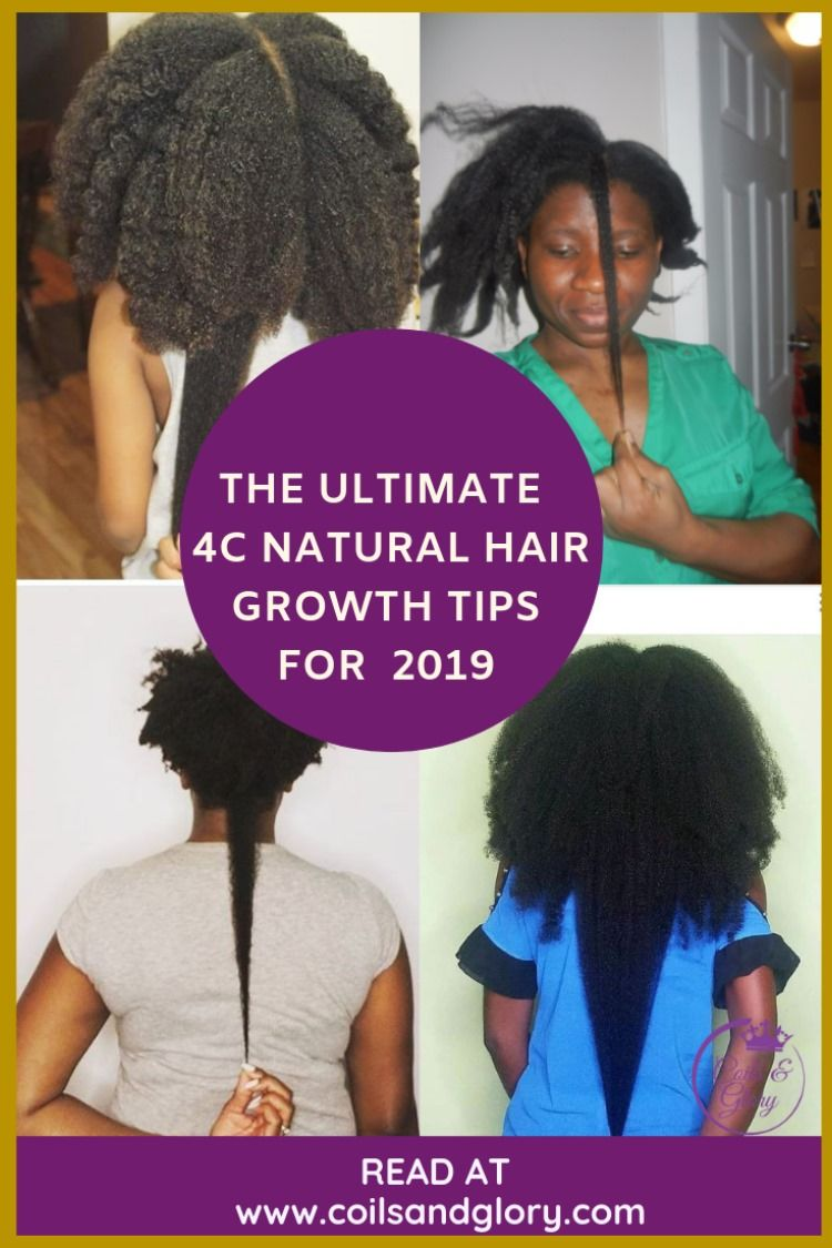 How to grow your hair with protective styling coils and