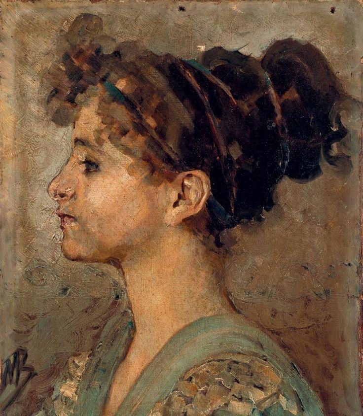 М.Врубель. Портрет Анастасии Врубель (сестры художника ...