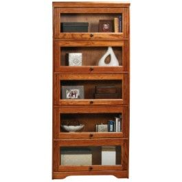 "Eagle Oak Ridge 5-Door 32"" Wide Lawyer Bookcase $679.99"