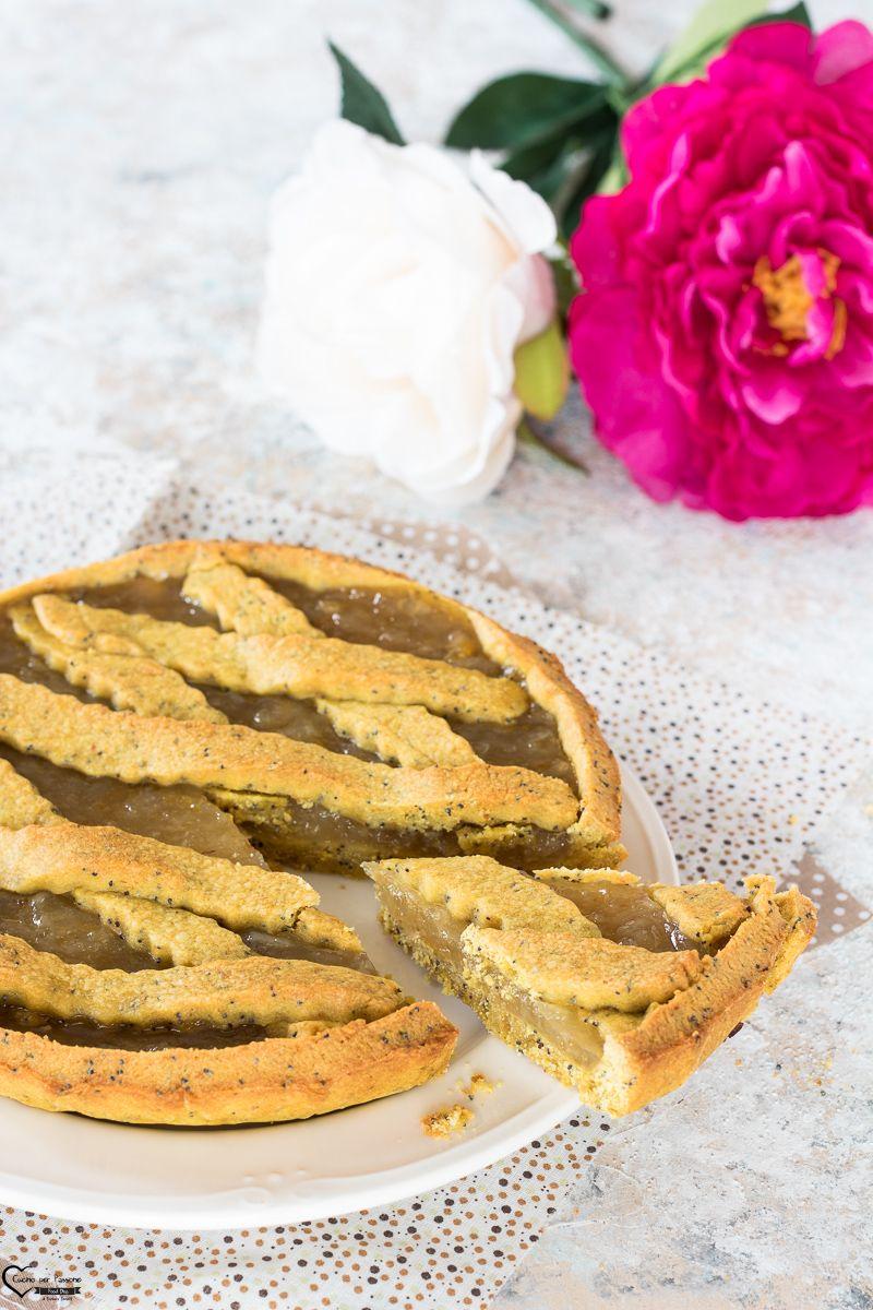 Photo of CROSTATA AL LIMONE ricetta pasta frolla con zucchero a velo facil