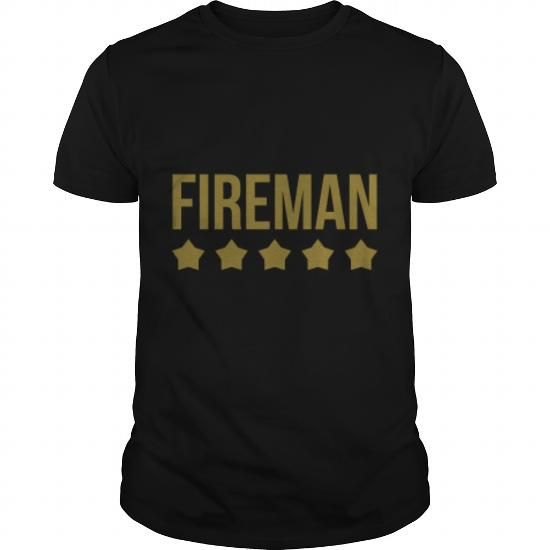 Cool Fireman firefighter fire pompier incendie (1) T-Shirts