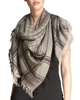 8d7f7644 Cavendish Scarf Beige/Gold | Scarfs | Gold scarf, Designer scarves ...
