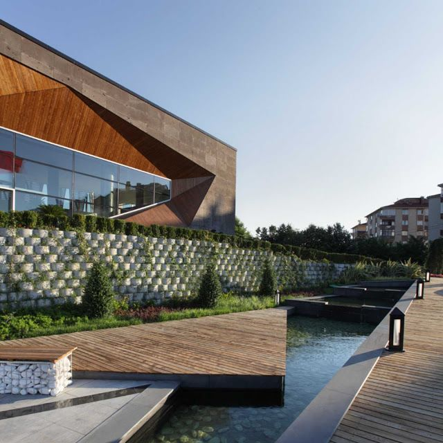 Sur Yapi Sales Office By Tago Architects Facade Architecture