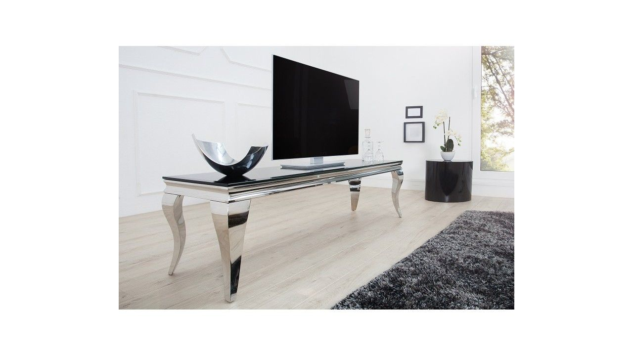 Meuble Tv Baroque Noir Letizia Tvs And Salons # Meuble Tv Wooden Art