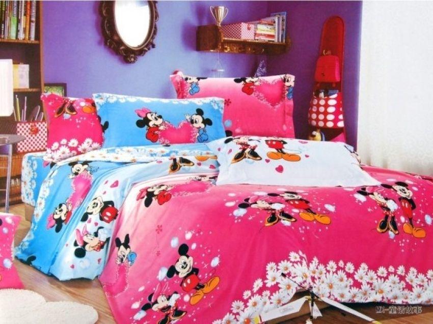 Minnie Maus Schlafzimmer In Voller Größe Minnie-mouse-Schlafzimmer - schlafzimmer komplett
