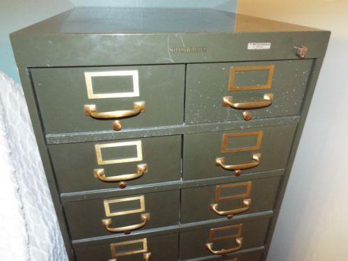Shaw Walker Br Handled File Cabinet