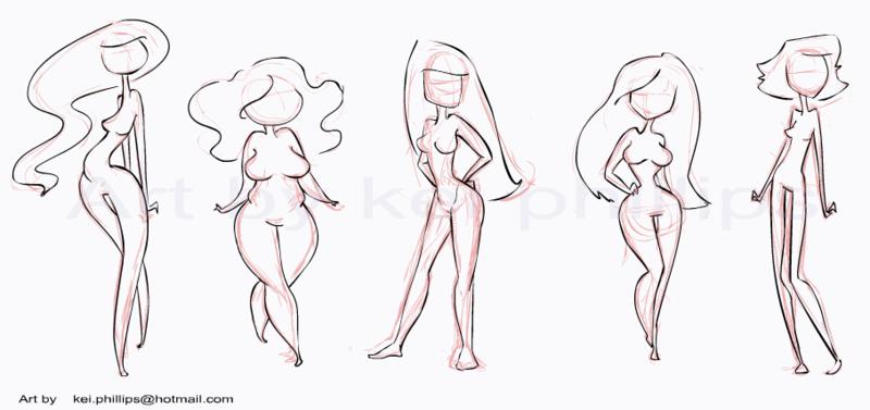 Body Types Crafty Effie Body Type Drawing Cartoon Drawings Body Shape Drawing