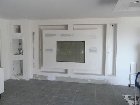 amenagement salon meuble tv ba13
