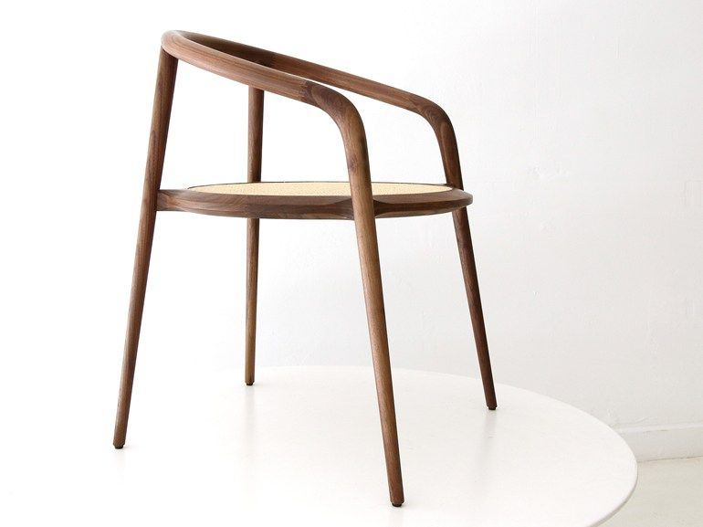 Branca lisboa sedia in noce design by marco sousa santos