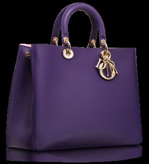 d359add7ff4 Dior Violet Diorissimo Large Bag   Wish list ,   Pinterest   Bags ...