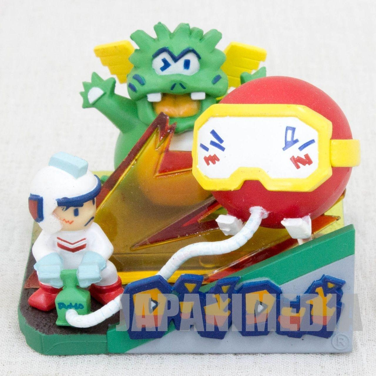Rare Namcole Digdug Package Type Mini Figure Namco Japan Nes
