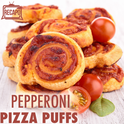 Buddy Valastro: Pepperoni Pizza Puffs Recipe + Ricotta Honey Crostini