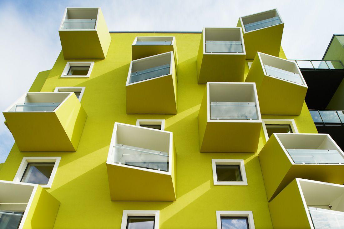 Plejeboliger, Ørestad, Danmark. JJW arkitekter. » Lindman Photography