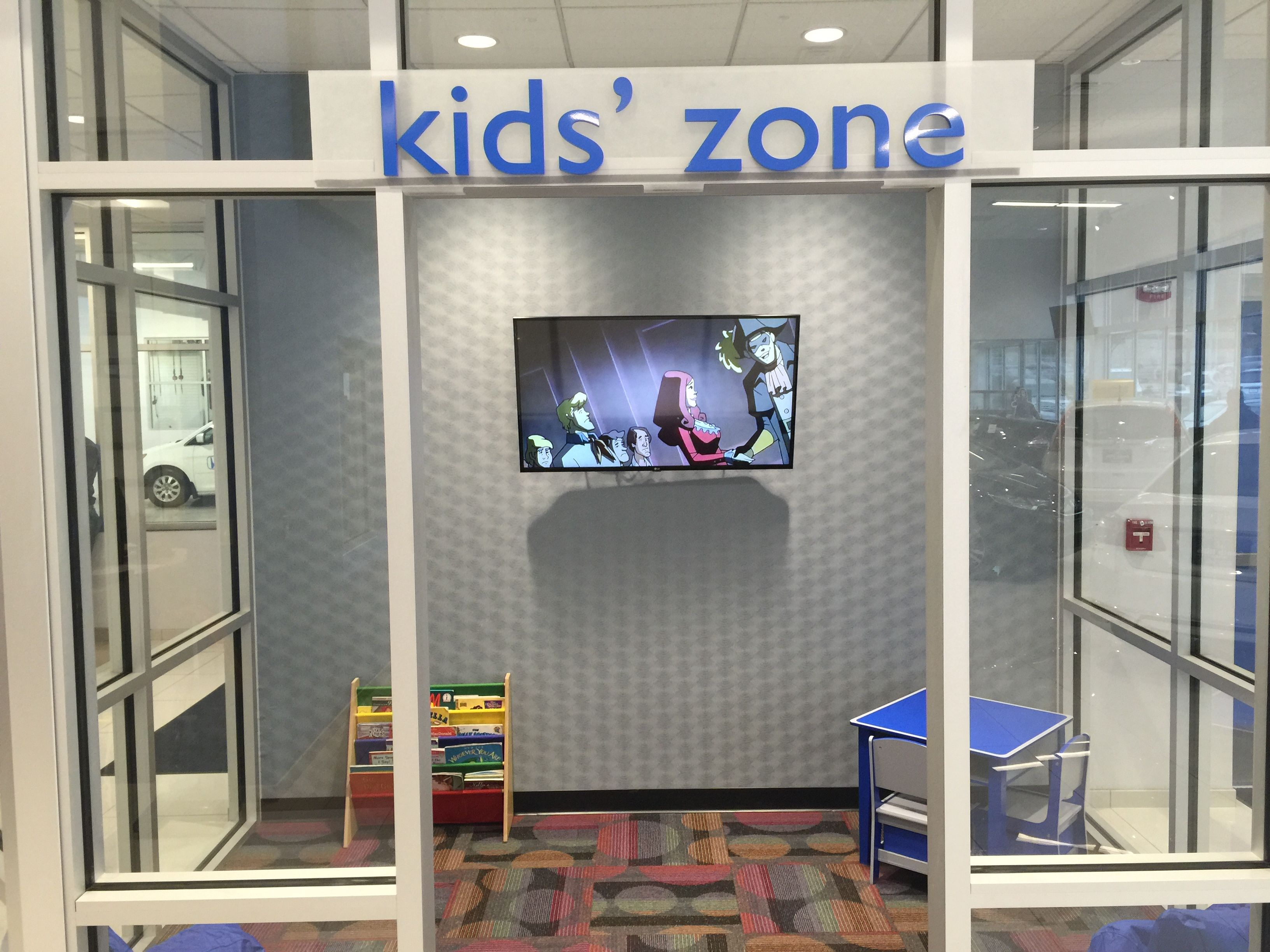 The Honda Store >> Kids Tv Area Professional Installed At A Honda Store At