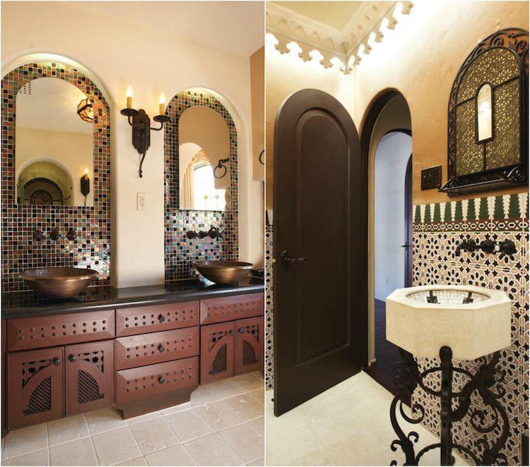 Salle de bain marocaine \u2013 20 idées sur les incontournables déco à