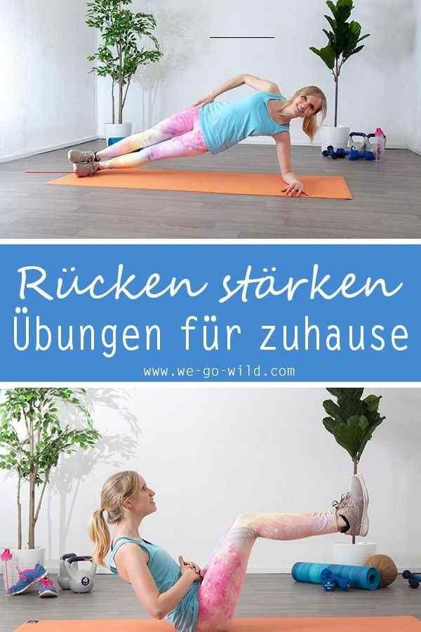 Rückentraining ohne Geräte - 11 effektive Übungen für den Rücken Mit diesen Rücken Übungen für zuhau...