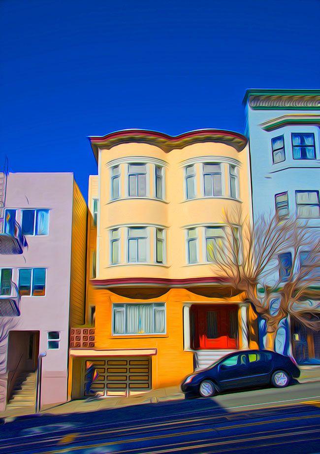San Francisco house.