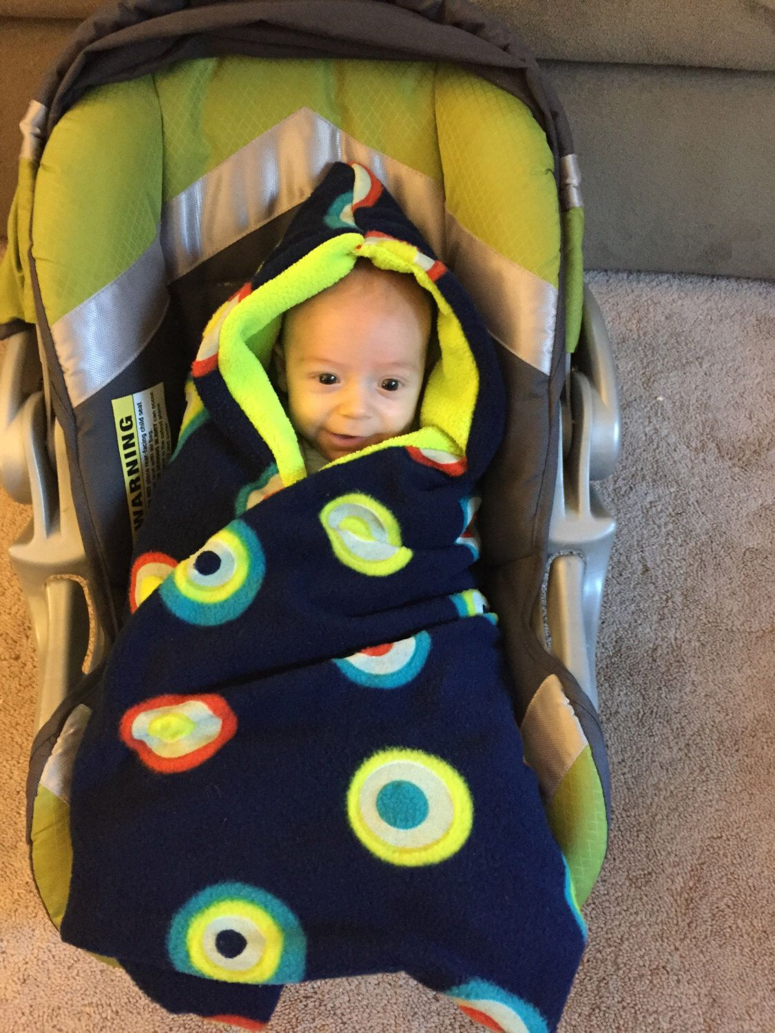 A Personal Favorite From My Etsy Shop Listing 252967800 Baby Swaddling Blanket For Car Seat