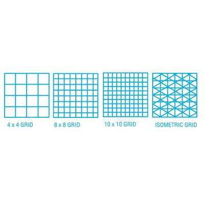 ClearPrint 1000HP Series Vellum Design and Isometric Grid Sketch - isometric graph paper
