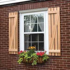 Wooden Exterior Shutters For The Home Shutters Exterior Wood Shutters Exterior White Exterior Houses