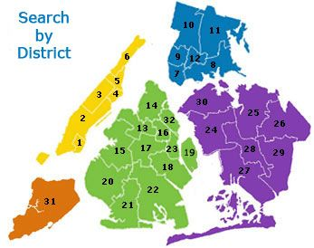 School District Nyc Map.Insideschools Your Independent Guide To Nyc Public Schools New
